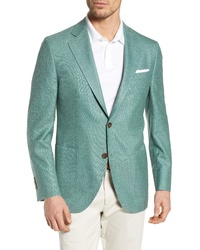Mint Wool Blazer