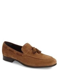 Mocasín con borlas de ante marrón claro de To Boot