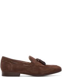 Mocasín con borlas de ante marrón de H By Hudson