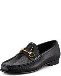 4d9e7cab4 Comprar unos zapatos negros Gucci de Neiman Marcus | Moda para ...