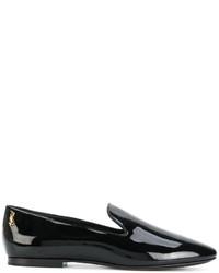 Mocasín negros de Saint Laurent