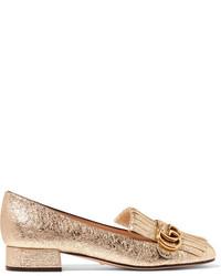 Comprar unos zapatos dorados Gucci de NET-A-PORTER.COM  e0533b90af7