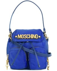 Mochila azul de Moschino