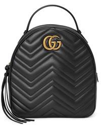 8c64610d9 Comprar una mochila de cuero negra Gucci | Moda para Mujeres ...