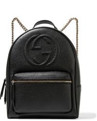 ddc44a268 Comprar una mochila de cuero negra Gucci | Moda para Mujeres ...