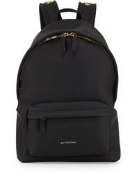 Mochila de lona negra de Givenchy