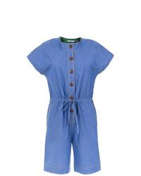 Mono corto azul de Isolda