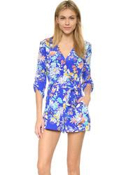 5ce236c0b Comprar un mono con print de flores azul de shopbop.com  elegir ...