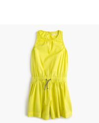Mono corto en amarillo verdoso de J.Crew