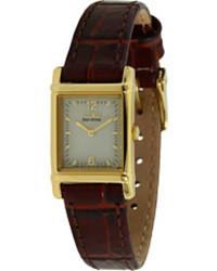 Montre en cuir brune Citizen
