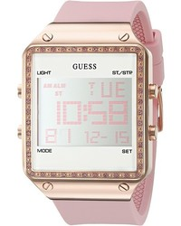 Montre rose GUESS