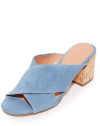 Mules bleues claires Sigerson Morrison