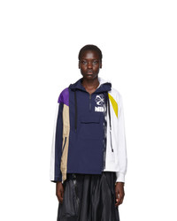 Nike Navy And Multicolor Sacai Edition Nrg Ni 01 Hooded Anorak