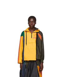 Nike Yellow And Multicolor Sacai Edition Nrg Ni 01 Hooded Anorak