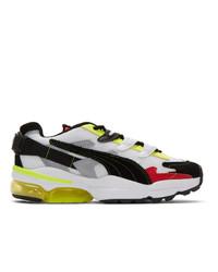 Ader Error Black And Multicolor Puma Edition Cell Alien Sneakers