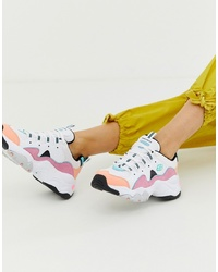 Skechers Dlite Chunky Trainers 30 In Pastel