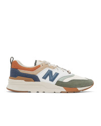 New Balance Green And Brown 997h Sneakers
