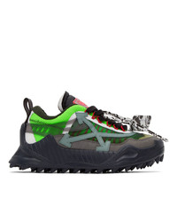 Off-White Green Odsy 1000 Sneakers