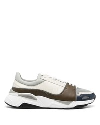 Canali Low Top Lace Up Trainers