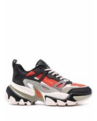 Michael Kors Michl Kors Nick Mixed Media Low Top Sneakers
