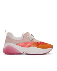 Emilio Pucci Orange Positano Sneakers