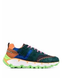 Etro Paisley Print Multicolour Sneakers