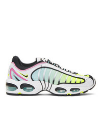 Nike White And Multicolor Air Max Tail Wind Iv Sneakers