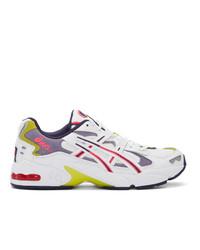 Asics White Gel Kayano 5 Og Sneakers