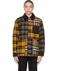 Burberry Brown Patchwork Jacket
