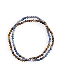 Nordstrom Men's Shop Bead Wrap Bracelet