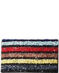 Multi stripe be clutch clutch handbags medium 4418621