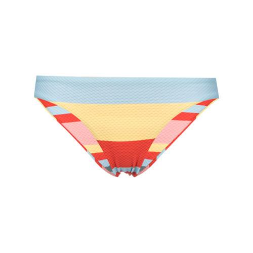 Asceno Bold Stripe Bikini Bottom