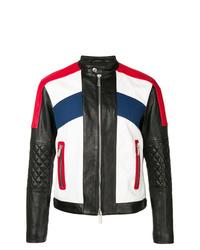 DSQUARED2 Panelled Biker Jacket