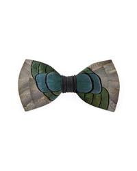 Brackish & Bell Nuno Feather Bow Tie