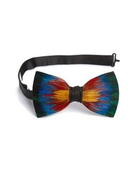 Brackish & Bell Spectrum Feather Bow Tie