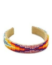 Beaded cuff bracelet medium 48906
