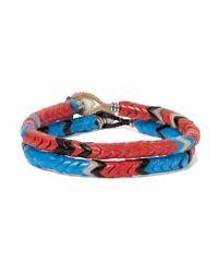 Mikia Set Of Two Beaded Bracelets