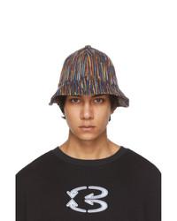 NAMESAKE Multicolor Slub Strike Bucket Hat