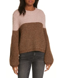LA LIGNE Two Tone Sweater