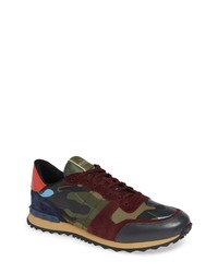 Valentino Garavani Camo Rockrunner Sneaker