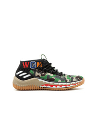 adidas Dame 4 A Bathing Ape Sneakers