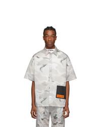 Multi colored Camouflage Short Sleeve Shirt