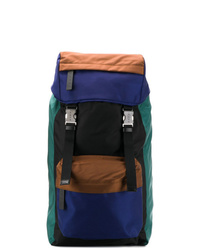 Multi colored Canvas Backpack