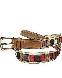 Multi colored Canvas Belt