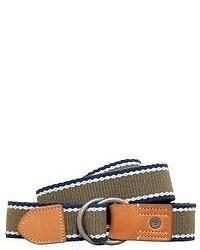 Timberland Striped Canvas Belt Style B6139