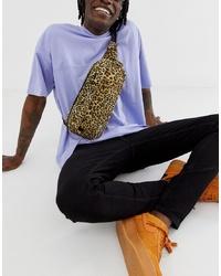 Spiral Crossbody Bag In Leopard Print