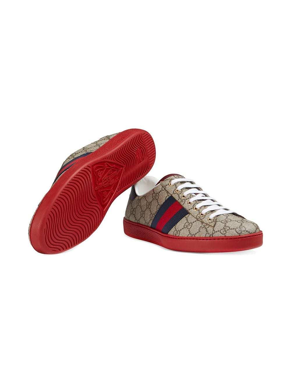 df655850b Gucci Ace Gg Supreme Sneaker, $507   farfetch.com   Lookastic.com