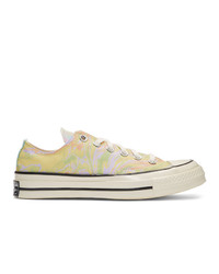 Converse Multicolor Marble Chuck 70 Ox Low Sneakers