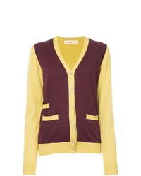 Marni Colour Block Longline Cardigan