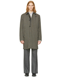 Acne Studios Multicolor Check Marc Coat